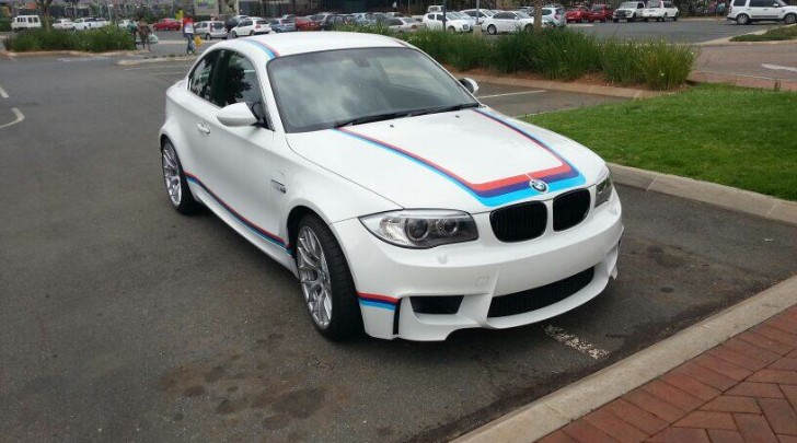 BMW E82 1M Coupe Has M Sport Stripes in South Africa. Again.