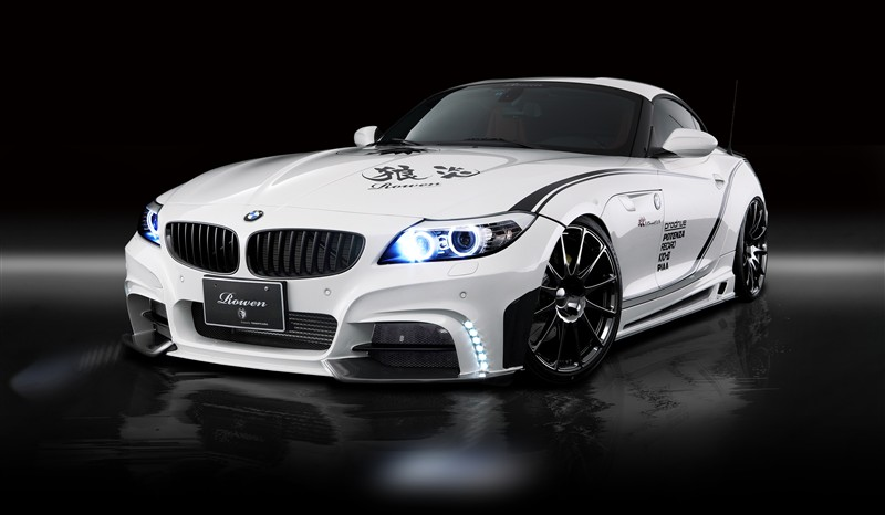 Bmw E89 Z4 White Wolf Edition By Rowen Japan A True Driver S Car Autoevolution
