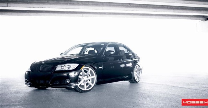 BMW E90 328i On Vossen CV7s Is an Apparition [Photo Gallery]