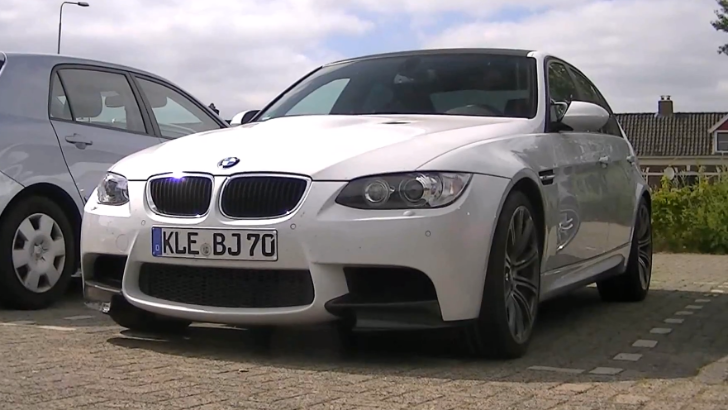 BMW E90 M3 Sounds Better than What the Future Holds [Video]
