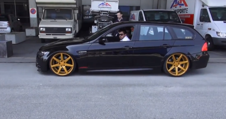 BMW E91 M3 Touring Diesel Is One Mystical Car [Video]