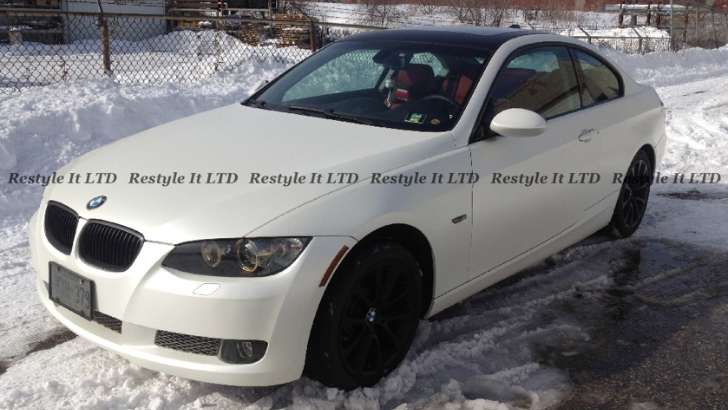 BMW E92 335i Turns Into Snow White in Canada [Photo Gallery]