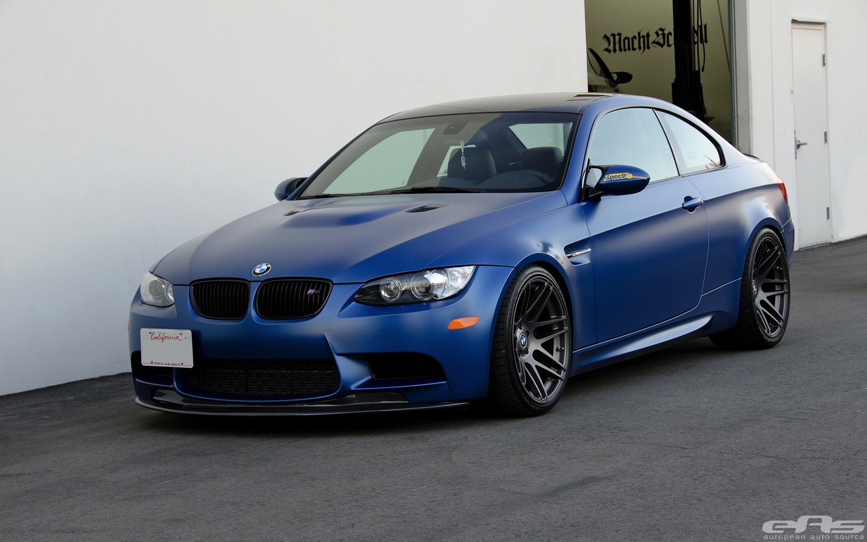 bmw e92 m3 gets mode carbon lip at eas. Black Bedroom Furniture Sets. Home Design Ideas