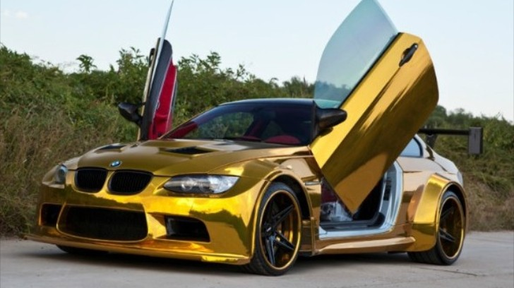 bmw e92 m3 with butterfly doors hails from china autoevolution. Black Bedroom Furniture Sets. Home Design Ideas