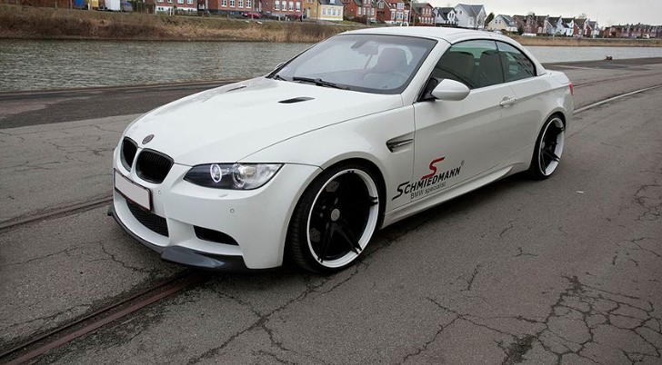 BMW E93 M3 Goes Black and White with BC Forged Wheels