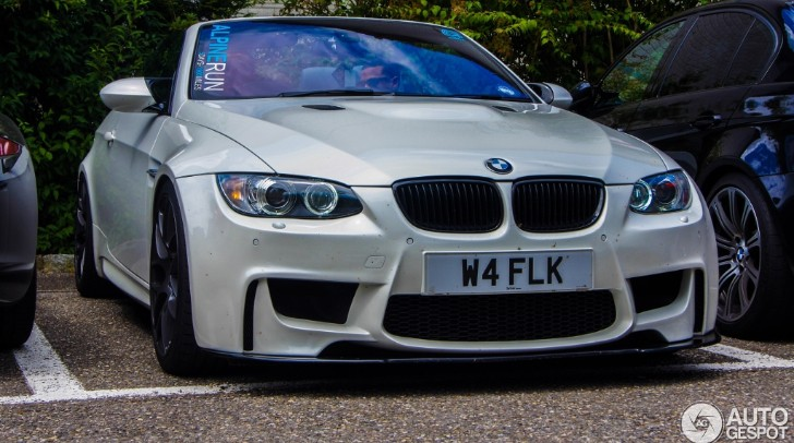 BMW E93 M3 Spotted Wearing 1M Coupe Bumper [Photo Gallery]