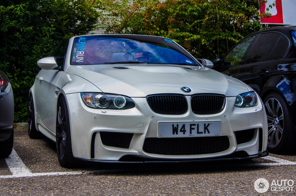 bmw e93 m3 spotted wearing 1m coupe bumper autoevolution. Black Bedroom Furniture Sets. Home Design Ideas