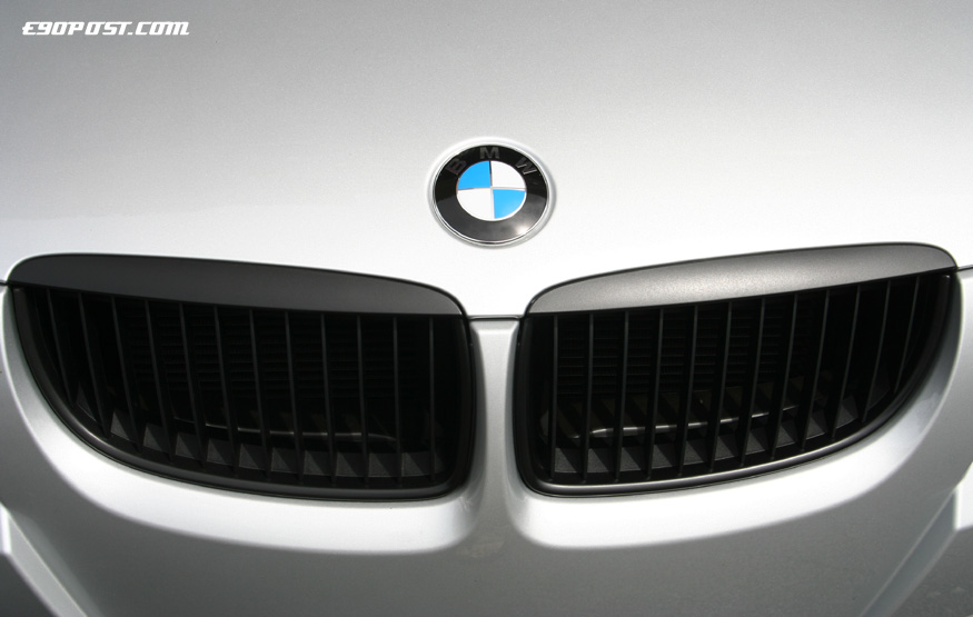 Bmw E9x Kidney Grille Blackout Shadowline Diy