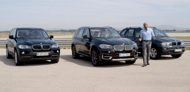 BMW Explains Why F15 X5 > E70 X5 > E53 X5 [Video]