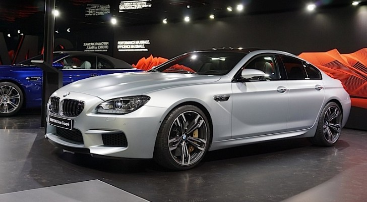 BMW F06 M6 Gran Coupe Present at Geneva 2013