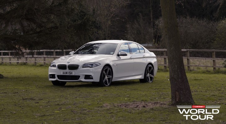 BMW F10 5 Series with Vossen Wheels Is Amish [Photo Gallery]