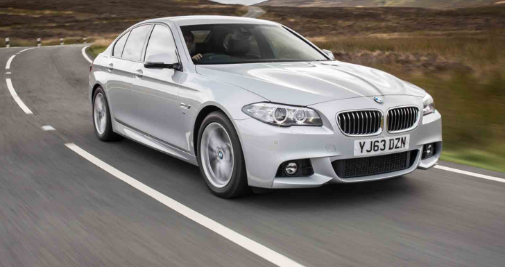 BMW F10 518d LCI First Drive Review by Autocar