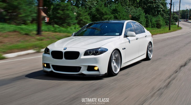 BMW F M Sport Is A WallStreet Car Autoevolution - Bmw 535i m package