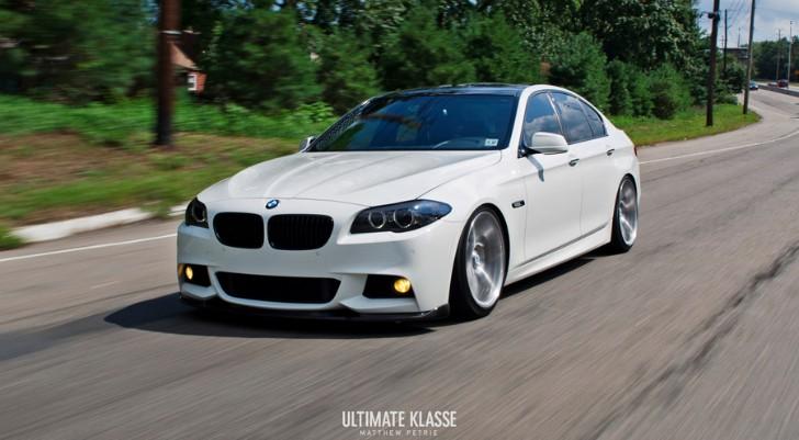 BMW F M Sport Is A WallStreet Car Autoevolution - Bmw 535i sport