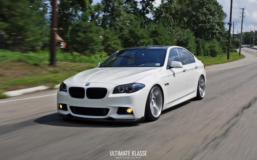 Bmw F10 535 M Sport Is A Wall Street Car Autoevolution