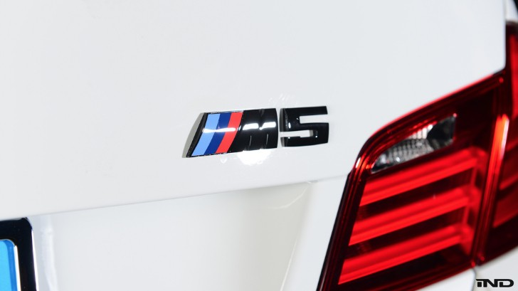 BMW F10 M5 Badge Replacement DIY