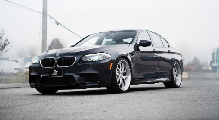 BMW F10 M5 Looks Weird on Modulare Wheels [Photo Gallery]