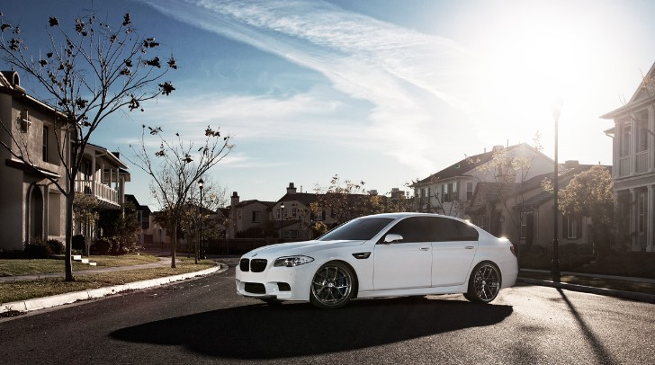 "BMW F10 M5 on 21"" MORR Multiforged MS5.2 [Photo Gallery]"