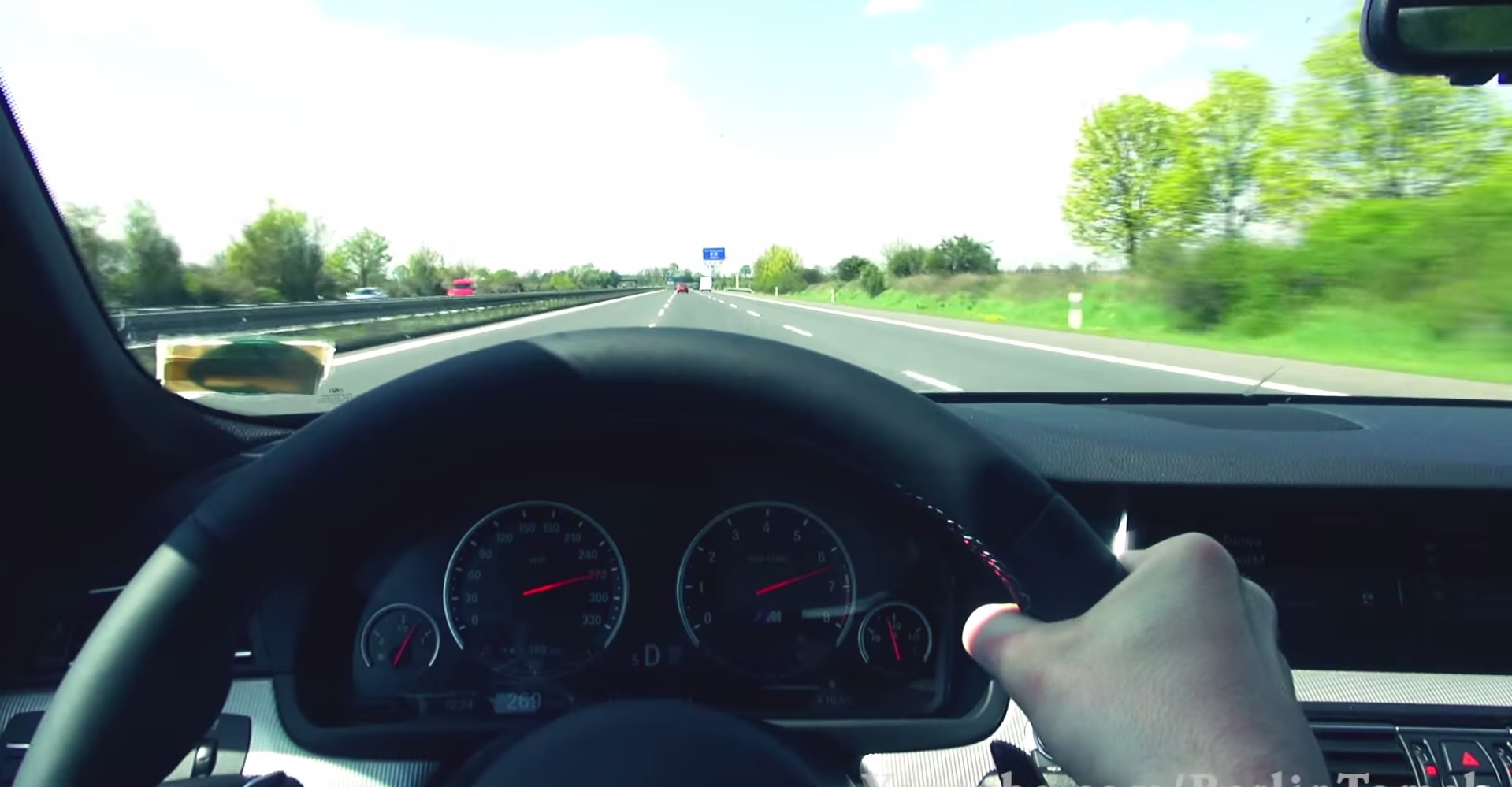 Bmw F10 M5 Point Of View Test Drive Autoevolution