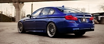 BMW F10 M5 Rides on PUR Wheels [Photo Gallery]