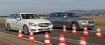 BMW F11 520i Touring vs Mercedes-Benz E200 Estate Comparison