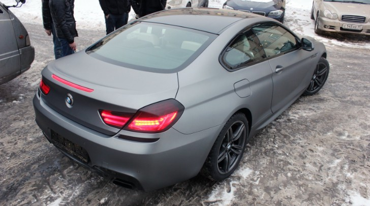BMW F12 650i xDrive Gets the Vinyl Treatment [Photo Gallery]
