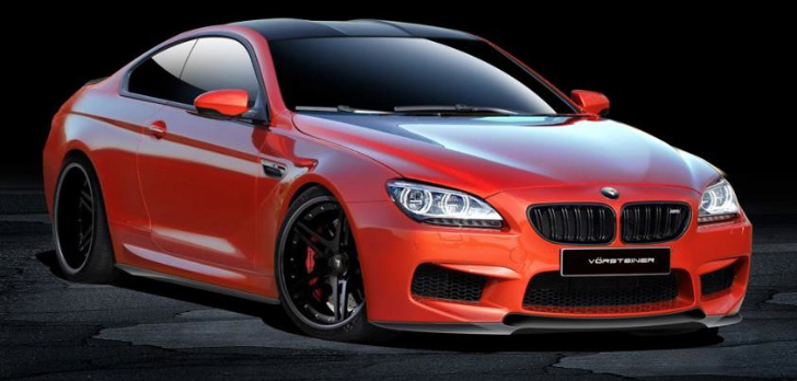 BMW F12 and F13 M6 Vorsteiner Preview