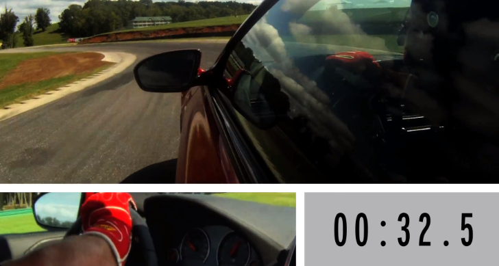 BMW F12 M6 Taken Around the Virginia International Raceway [Video]