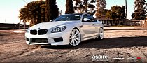 BMW F13 M6 Rides on White Wheels!