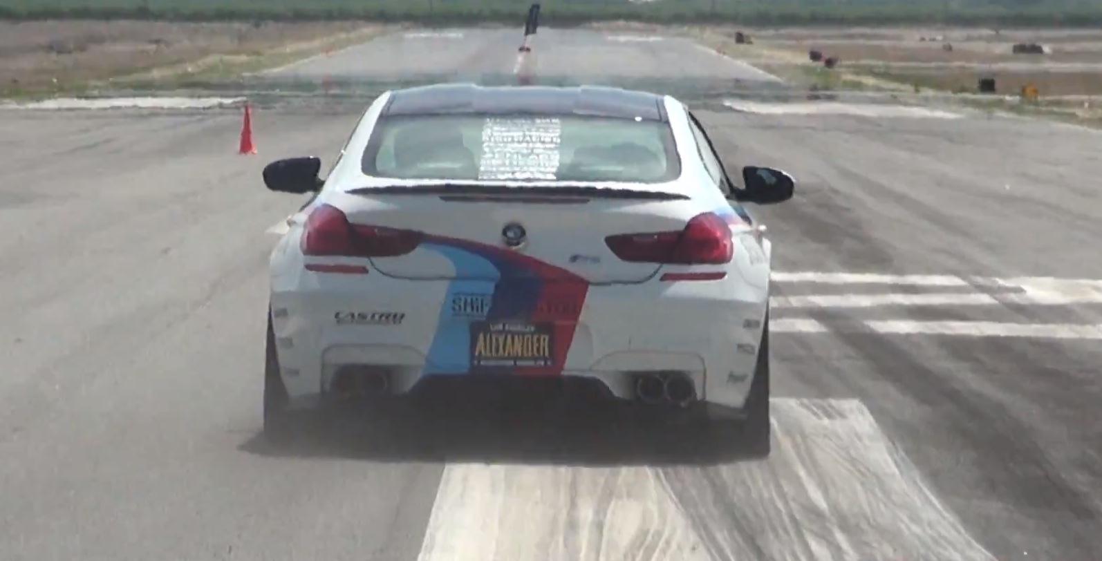 Bmw F13 M6 Sounds Vicious With A Castro Gt Race Exhaust Autoevolution