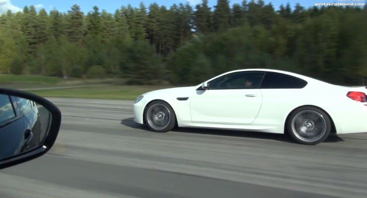 BMW F13 M6 vs BMW F10 M5 Drag Race [Video]