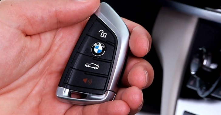 BMW F15 X5 Key Fob Introduction [Video]