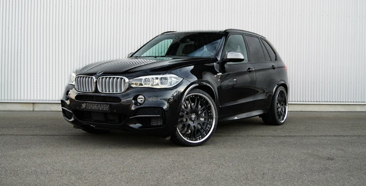 BMW F15 X5 Looking Good on Hamann Wheels