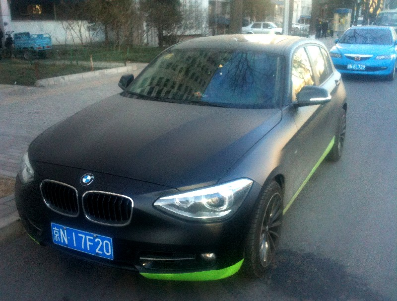 Matte Black Bmw >> Bmw F20 1 Series Comes In Matte Black In China Autoevolution