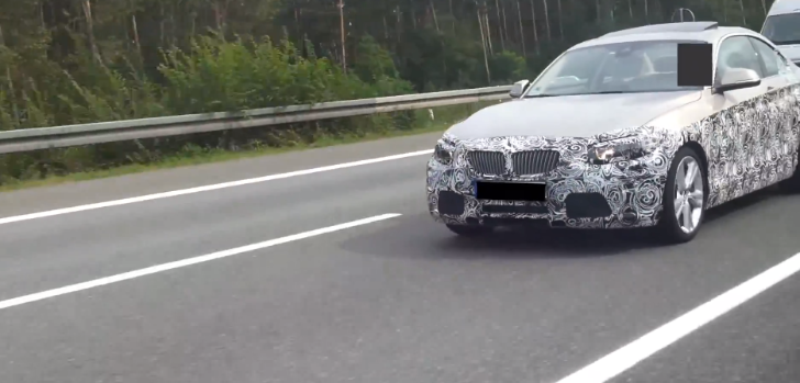 BMW F22 2 Series Caught Testing on the Highway [Video]
