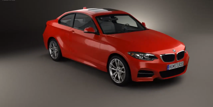 BMW F22 2 Series M235i Video Rendered [Video]