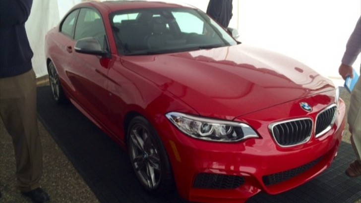 BMW F22 M235i Unveiled Through Live Photos