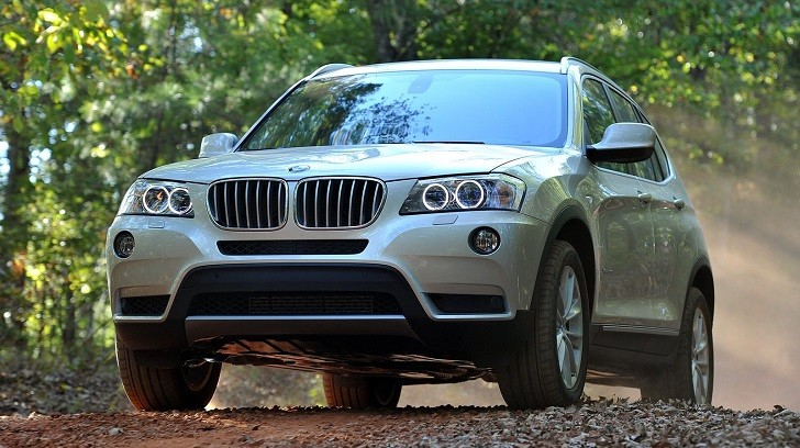 BMW F25 X3 Ranked Number One SUV in ADAC Survey