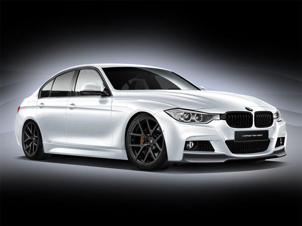 bmw f30 3 series gets a first preview in vorsteiner clothes autoevolution. Black Bedroom Furniture Sets. Home Design Ideas