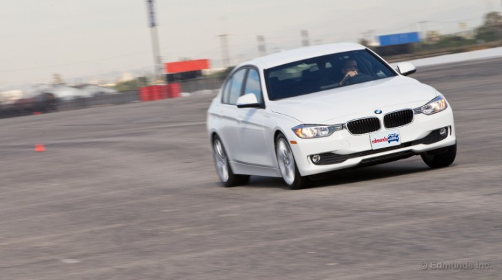 BMW F30 320i Takes to the Track at Edmunds