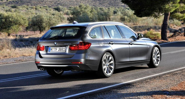 BMW F30 320i xDrive Touring Review by Top Gear