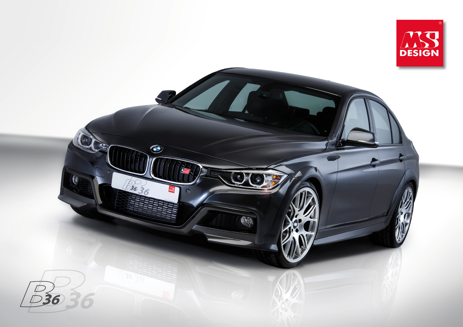 bmw f30 335i is b36 at ms design autoevolution. Black Bedroom Furniture Sets. Home Design Ideas
