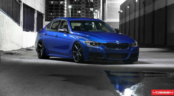 BMW F30 335i M Sport with Vossen CV7 Wheels [Photo Gallery]