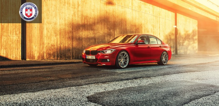 BMW F30 335i on HRE Wheels Hails from Sweden