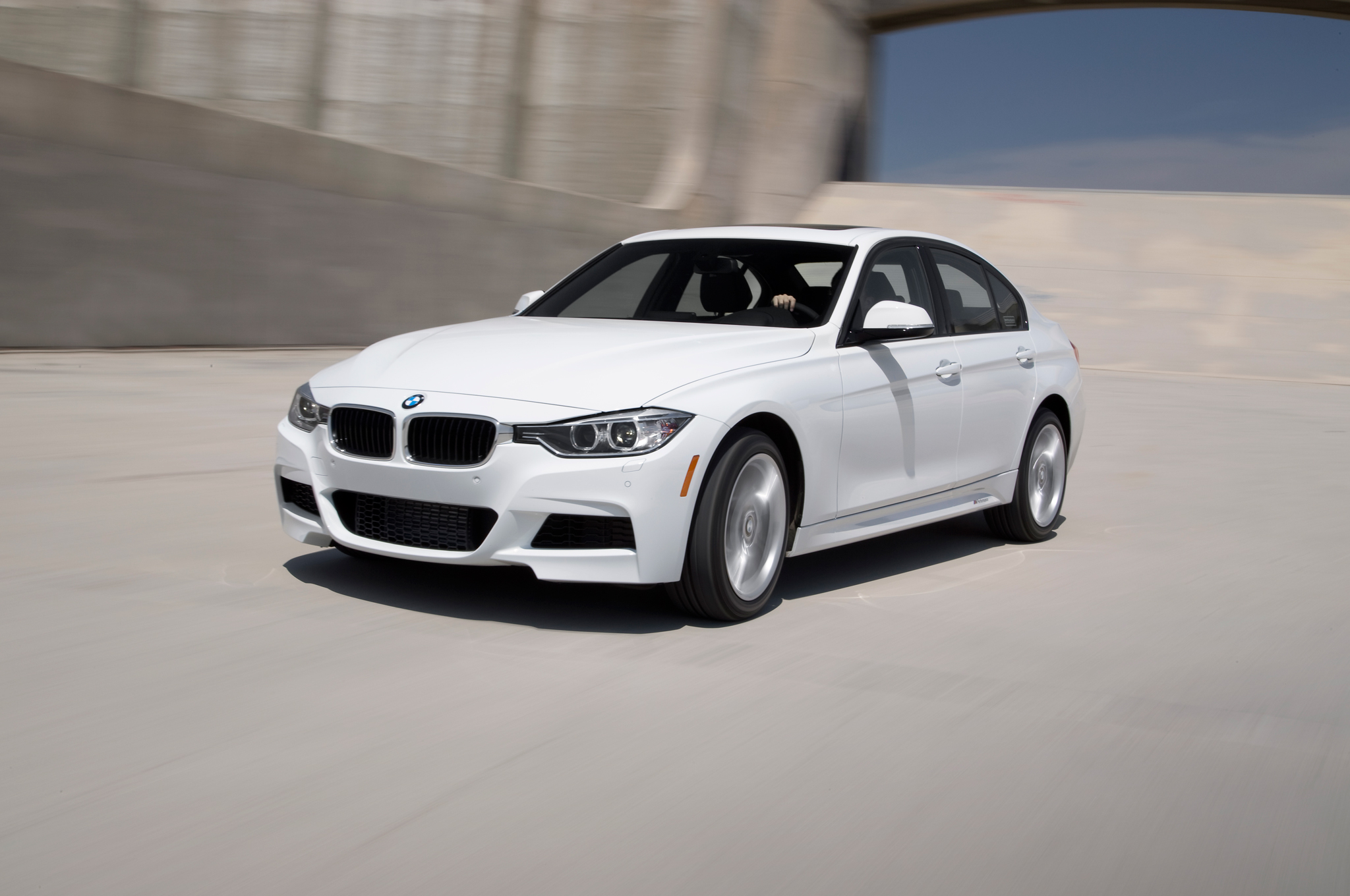 bmw f30 335i xdrive with m performance package kit test drive