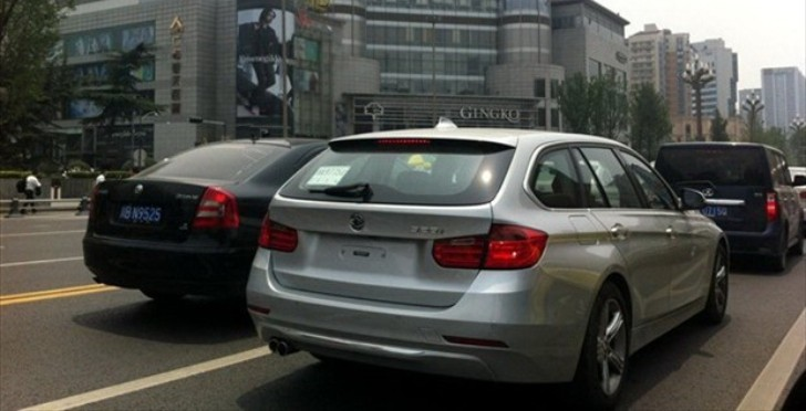BMW F31 Touring Spotted Testing in China