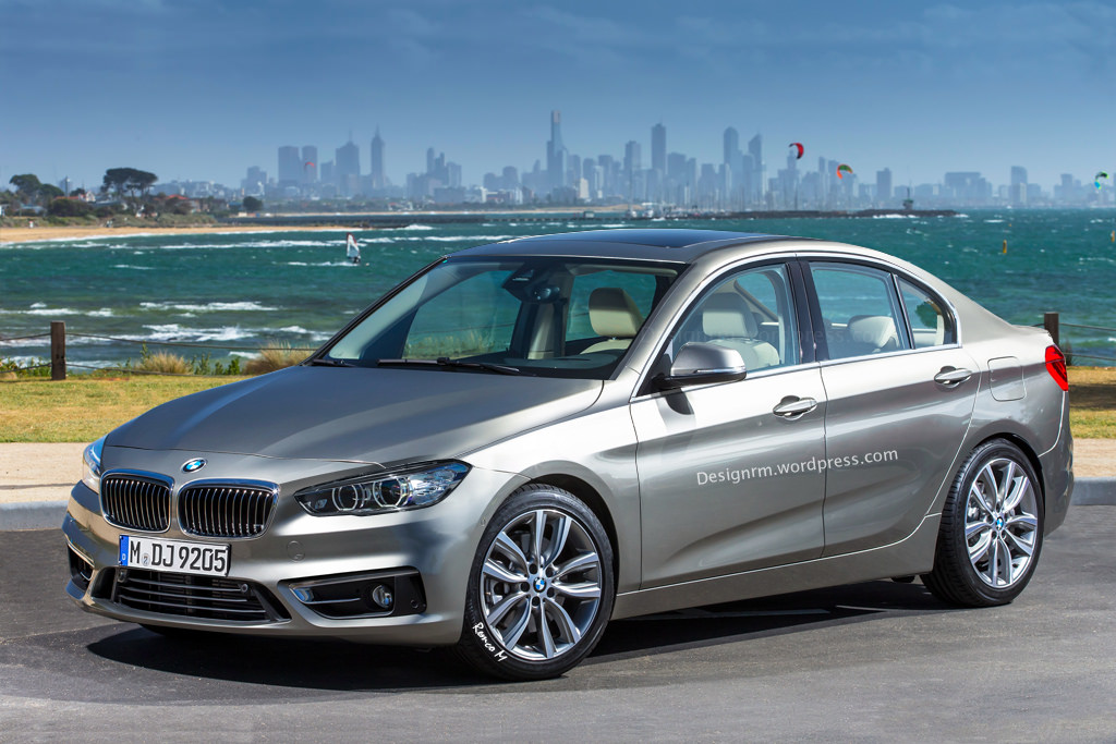 Bmw F52 1 Series Sedan Rendered Close To The Real Deal Autoevolution