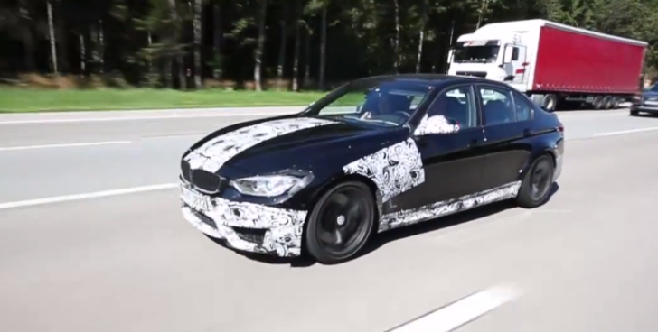 BMW F80 M3 Spotted on the Highway [Video]