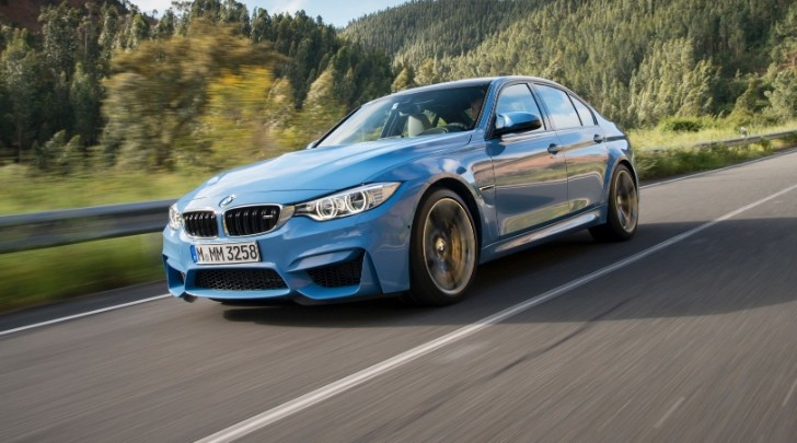 Bmw F80 M3 To Get Small Facelift With F30 3 Series Lci Autoevolution