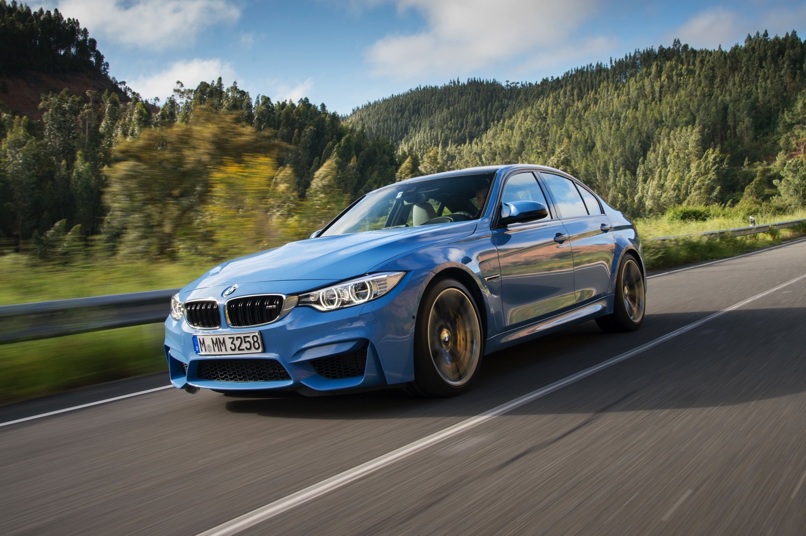 bmw f80 m3 to get small facelift with f30 3 series lci autoevolution. Black Bedroom Furniture Sets. Home Design Ideas